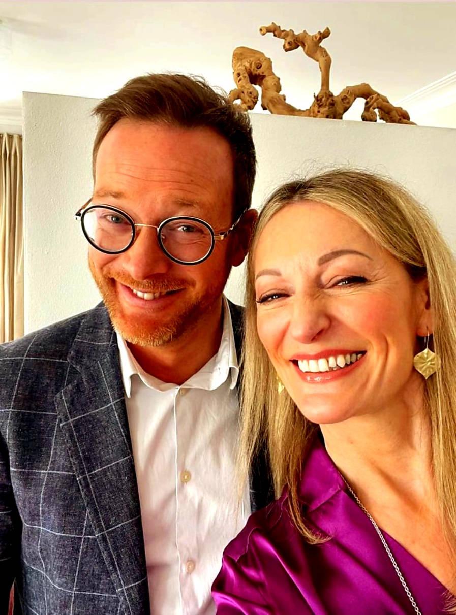 Monika Gruber und Guido Krutscher